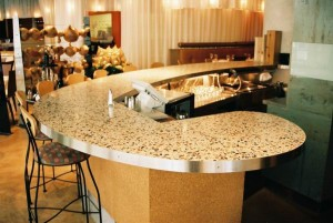 We Offer Custom Terrazzo Countertops Click here to learn more about our countertops.