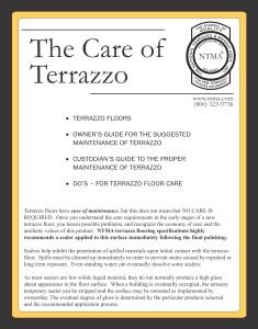Care of Terrazzo